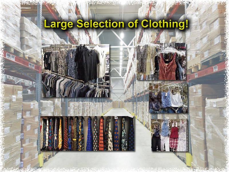 Clothing - Liquidation Center